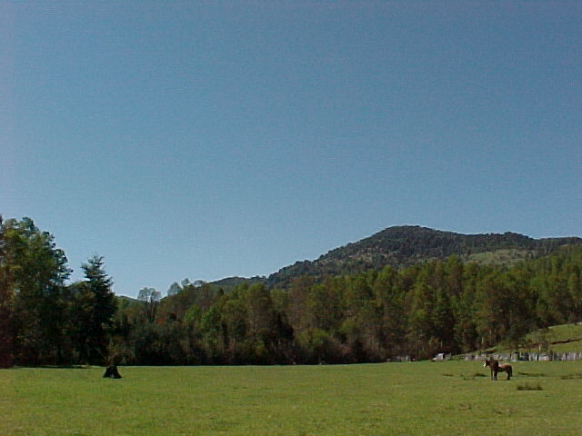 """El Sombrero"", the mountain."